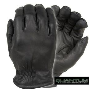Damascus Protective Gear Quantum Series Gloves Leather Black