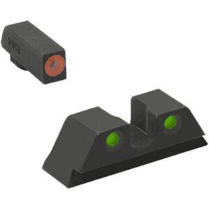 Meprolight Hyper Bright Night Sights For H&K HK45/45C/VP9 Tritium Yellow/Green