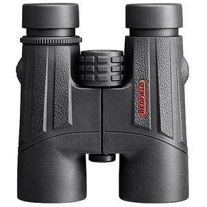 Redfield Rebel 10x42 Binoculars BAK4 Roof Prism Twist Up/Down Eyecups Center Focus Aluminum Body Black Finish 67605