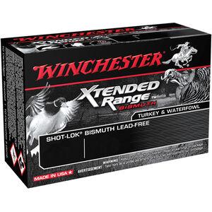 "Winchester Xtended Range Bismuth 12 Gauge Ammunition 10 Rounds 3"" #5 Bismuth Shot 1-5/8 oz 1200fps Non-Toxic"