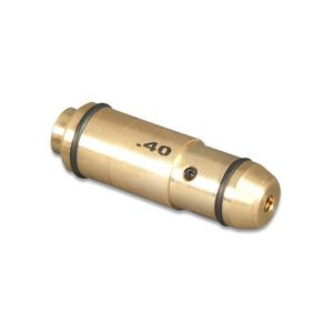 LaserLyte Trainer Pistol Cartridge Laser Trainer .40 S&W Three 377 Batteries 3000 Shot Life Chamber Install Brass LT-40