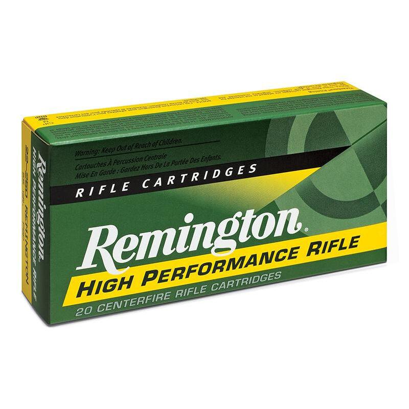 Remington High Performance Rifle .375 Remington Ultra Magnum Ammunition 20 Rounds 270 Grain Soft Point 2900fps