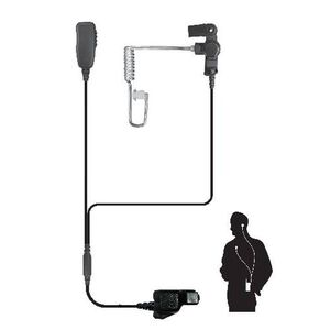 Code Red Investigator M3 Two Wire Lapel Microphone Black