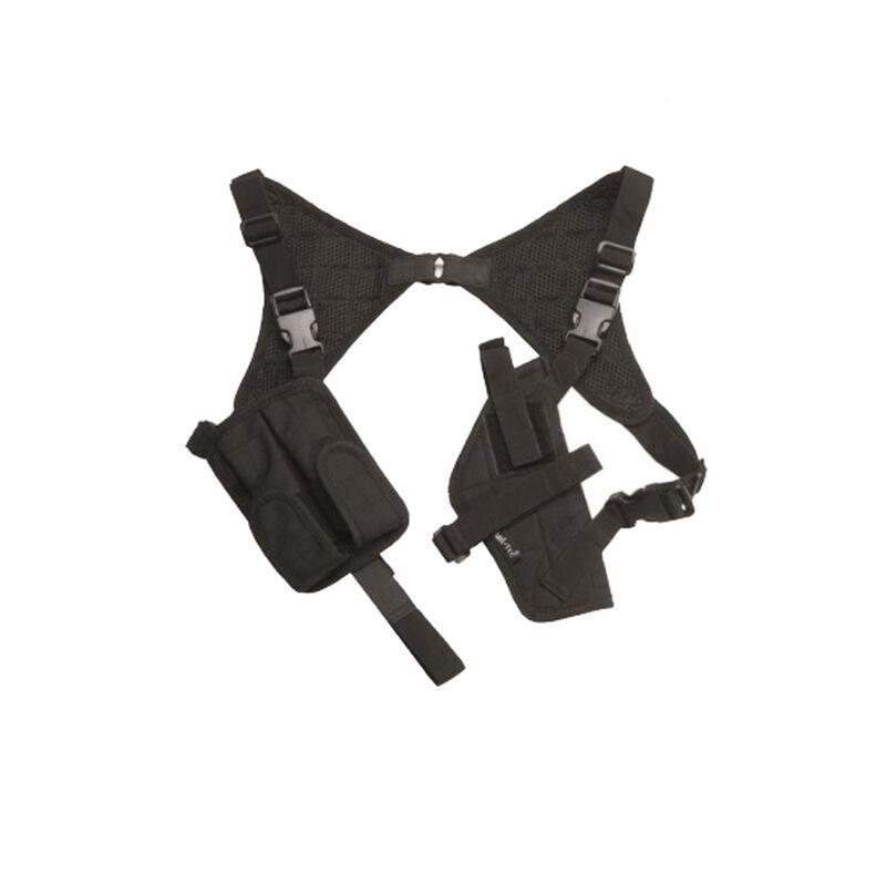Mil-Tec Universal Shoulder Holster Ambidextrous Nylon Cordura Black 16131002