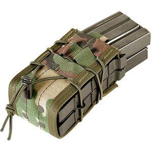 HSGI X2R TACO Double Rifle Mag MOLLE Pouch Woodland