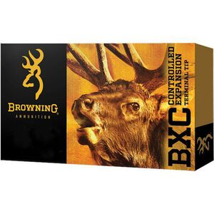 Browning BXC 7mm Remington Magnum Ammunition 20 Rounds BXC 155 Grains B192200071