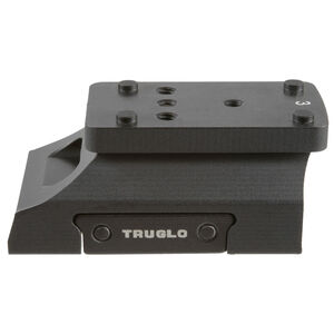 Truglo Universal Micro Red Dot Sight Riser Matte Black