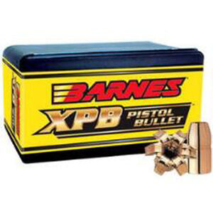 "Barnes .500 S&W/.500"" Bullets 20 Projectiles SCHP 325 Grains"