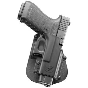 Fobus Paddle Holster For GLOCK .45/10mm S&W Sigma V Series Right Hand Polymer Black GL4