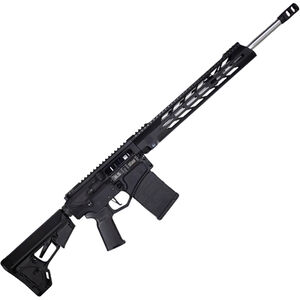 "Diamondback DB10 6.5 Creedmoor AR Style Semi-Auto Rifle 20"" Fluted Stainless Barrel 20 Rounds M-LOK Handguard Collapsible Stock Black"