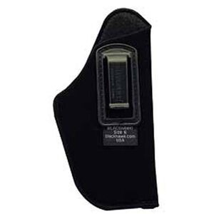 "BLACKHAWK! Inside the Pant Holster for 3 1/4"" to 3 3/4"" Barrel Medium and Large Frame Autos, Right Hand, Belt Clip, Black"