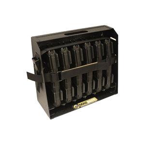 Mag Storage Solutions AR-15 Mag Safe-6 Steel Black