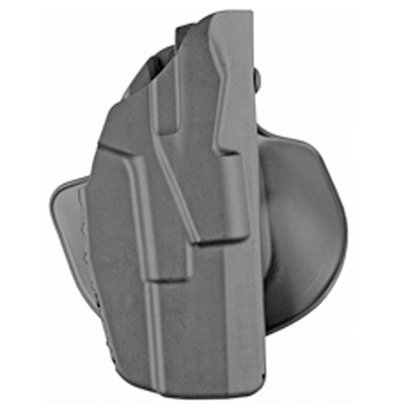 Safariland 7378 7TS ALS Concealment Paddle with Belt Loop Combo Holster fits Ruger LC9/LC9S/LC380 Right Hand Synthetic Plain Black