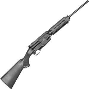 "FightLite SCR Semi Auto Rifle 5.56 NATO 16.25"" Barrel 5 Round Magpul MOE Hand Guard Sporter Stock Ejection Port Dust Cover Synthetic Black Finish"