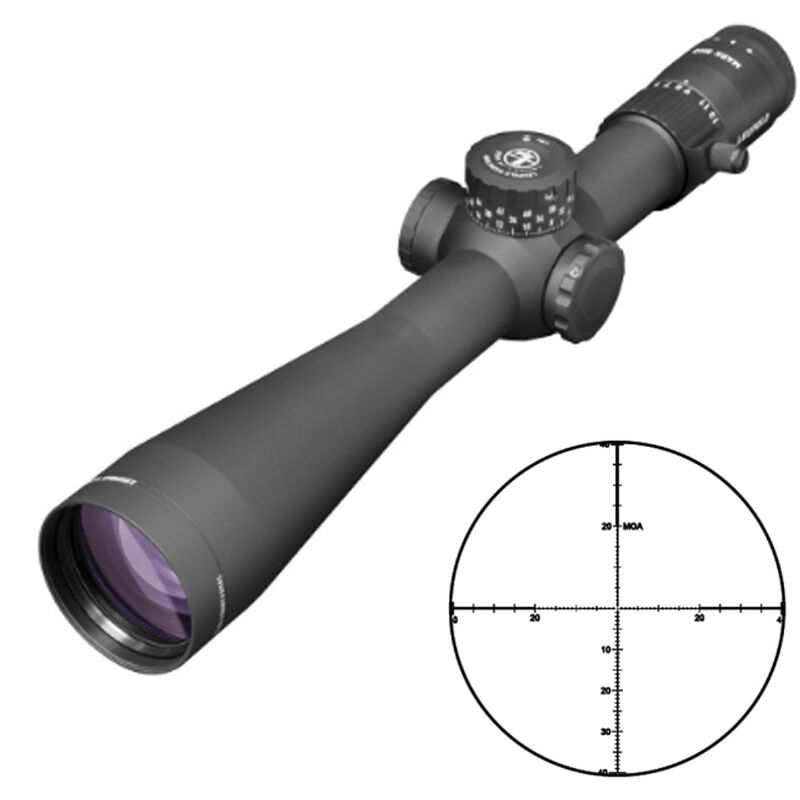 Leupold Mark-5HD 5-25x56 Rifle Scope Illuminated PR-1MOA Reticle 35mm Tube .25 MOA Adjustment First Focal Plane Matte Black Finish