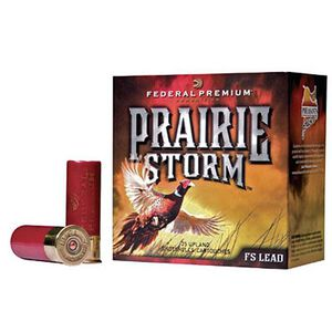 "Federal Prairie Storm 12 Gauge Ammunition 250 Rounds 2-3/4"" #5 FS Plated 1-1/4oz 1500fps"