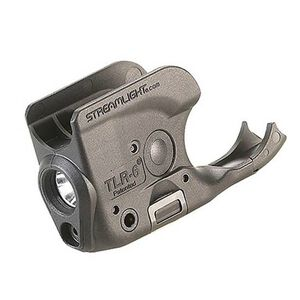 Streamlight TLR-6 Rail Mount LED Light and Red Laser for Springfield Armory XD, XDM Black Polymer
