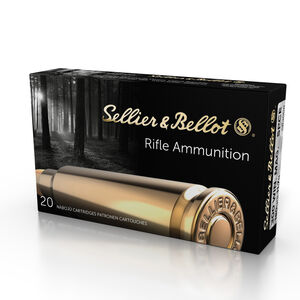 Sellier & Bellot .300 Winchester Magnum Ammunition 20 Rounds SPCE 180 Grains SB300B