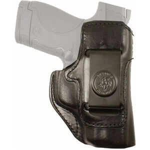 DeSantis Inside Heat Ruger Security 9 IWB Holster Right Hand Leather Black