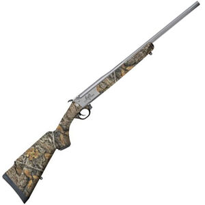 "Traditions Outfitter G2 .44 Remington Magnum Break Action Rifle 22"" Fluted CeraKote Barrel Single Shot Realtree Edge Synthetic Stock"