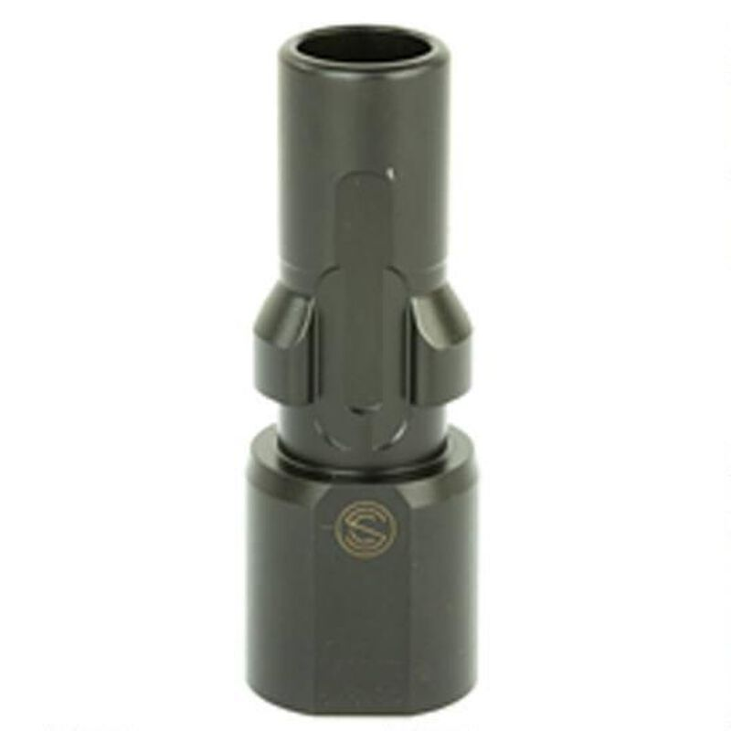 SilencerCo 3-Lug Muzzle Device .45 ACP Threaded .578x28 Steel Black