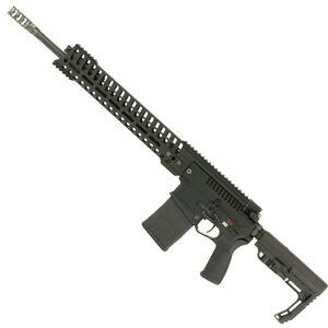 "POF Revolution AR Style Semi Auto Rifle .308 Winchester 18.5"" Match Grade Barrel 20 Rounds 14.5"" M-LOK Free Float Hand Guard MFT Pistol Grip/Stock Black"