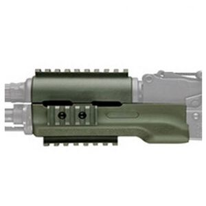 Hogue AK-47 OverMold Forend Polymer Green