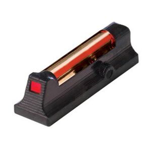 HiViz Front Sight Ruger LCR Red Fiber Steel Black LCR2010-R
