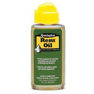 Remington Rem-Oil Liquid Gun Cleaner Lubrication Protection 1oz Bottle 26617