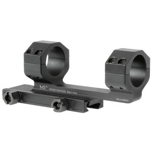 "Midwest Industries 30mm Scope Mount 20 MOA with 1.4"" Offset 6061 Aluminum Hard Coat Anodized Finish Matte Black"