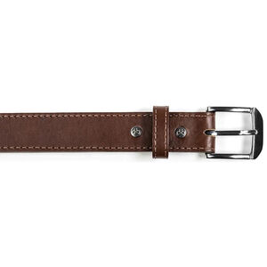 Magpul Tejas Gun Belt Leather/Polymer Chrome Buckle Size 36 Chocolate MAG733-210-36