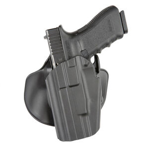 Safariland 578 GLS Pro-Fit Wide Long Holster w/ Paddle, Left Hand Belt Carry, Black