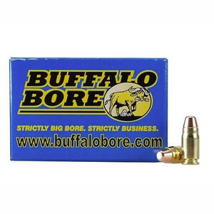 Buffalo Bore Low Flash Heavy .357 Sig Ammunition 20 Rounds FMJ FN 125 Grains 25B/20