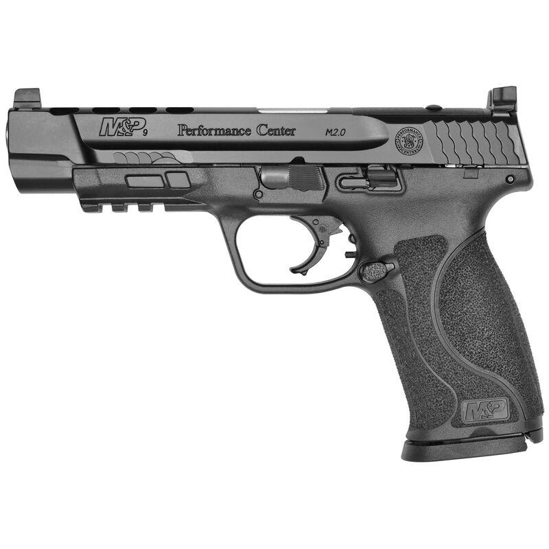 "S&W Performance Center M&P9 M2.0 9mm Semi Auto Handgun 5"" Ported Barrel C.O.R.E. 17 Rounds Black"