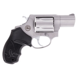 """Taurus 605 Double Action Revolver .357 Magnum 2"""" Barrel 5 Rounds Fixed Front Sight/Fixed Rear Sight Soft Rubber Grips Matte Stainless Steel Finish"""