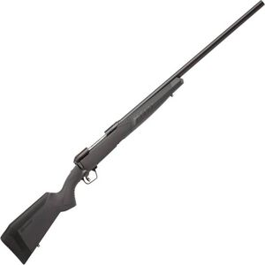 """Savage 110 Varmint Bolt Action Rifle .22-250 Rem 26"""" Heavy Barrel 4 Rounds Synthetic Adjustable AccuFit AccuStock Black Finish"""
