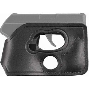 DeSantis Gunhide Pocket Shot Pocket Holster fits GLOCK 42 Ambidextrous Leather Black