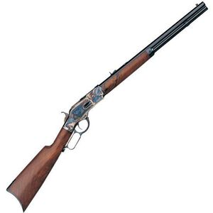"Taylor's & Co Winchester 1873 Sporting Lever Action Rifle .357 Mag 20"" Octagonal Barrel 10 Rounds Walnut Stock Blued 200F"
