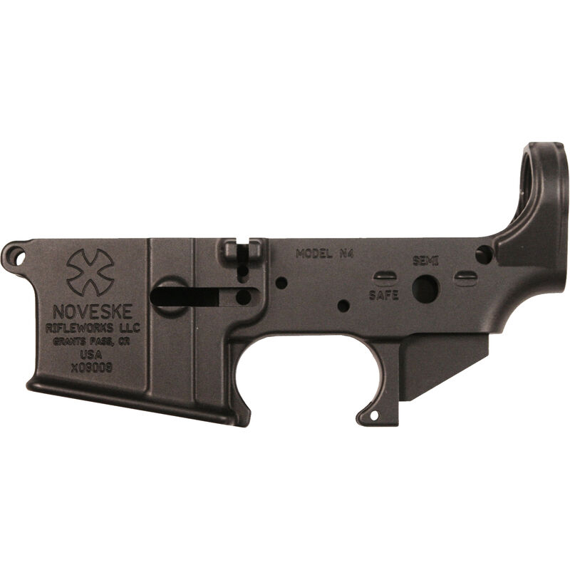 Noveske Gen 1 N4 AR-15 Stripped Lower Receiver Forged Aluminum Anodized  Black