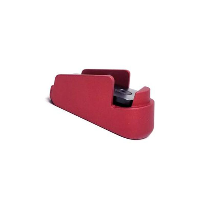 Obsidian Arms Sig Sauer P320 Subcompact Pinky Extenstion Base Pad Red SIGP320SUB-PINKY-RED