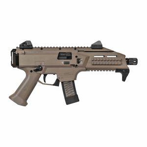 "CZ Scorpion EVO 3 S1 Pistol Semi Auto Pistol 9mm Luger 7.72"" Barrel 20 Rounds Low Profile Fully Adjustable Aperture/Post Fiber-Reinforced Polymer Frame Flat Dark Earth"