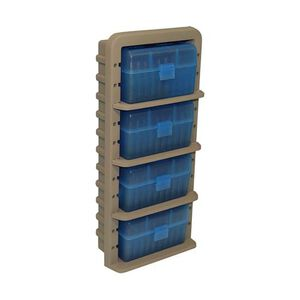 MTM Case-Gard Ammo Rack with Four Rifle Ammo Boxes