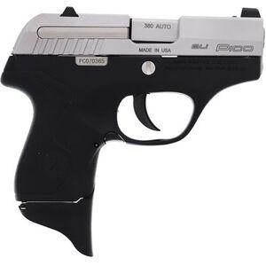 "Beretta Pico .380 ACP Semi Auto Pistol 2.7"" Barrel 6 Rounds XS Front Night Sight Two Tone Black Polymer Frame with Inox Slide Finish"