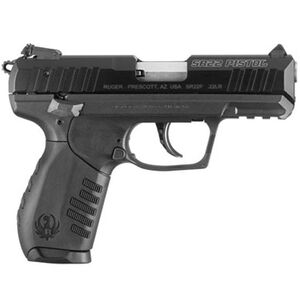 "Ruger SR22 Semi Auto Pistol .22 Long Rifle 3.50"" Barrel 10 Rounds Adjustable Sights"