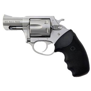 """Charter Arms Pitbull Rimless Revolver 9mm Luger 2.2"""" Barrel 5 Rounds Neoprene Grip Matte Stainless Steel 79920"""