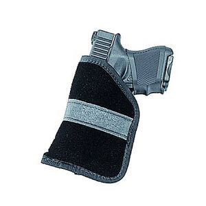 Ambidextrous Inside-the-Pocket Holster Sub-Compact 9mm & .40 Autos Size 4 Polymer Suede Black