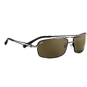 Serengeti Dante Polarized Sunglasses Shiny Gunmetal/Black