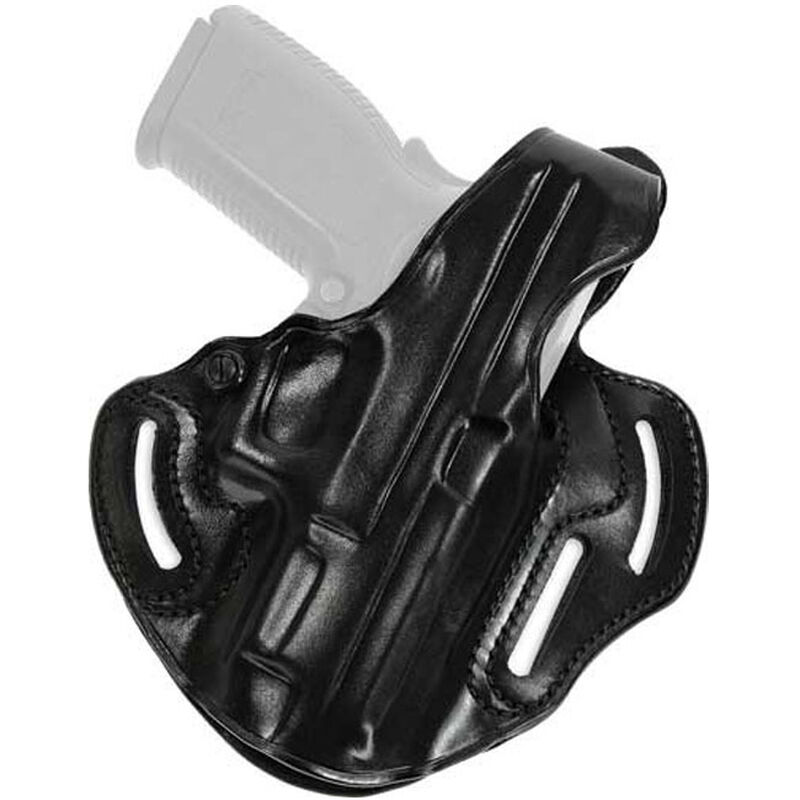 Galco Cop 3 Slot Belt Holster For GLOCK 17/22/31 Right Hand Leather Black CTS224B