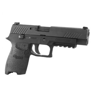 TALON Grips SIG P250 Compact with Medium Grip Module Rubber Adhesive Grip Black
