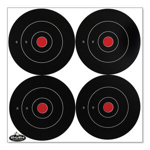 "Birchwood Casey Dirty Bird Rapid Fire 6"" Round Targets"